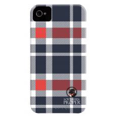 iPhone Case Navy Plaid